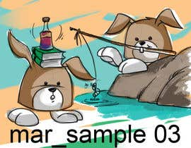 #29 cho Character Design: Combination of a Bunny and a Bear bởi velmarph2001