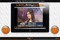 Contest Entry #17 for Design a Website Mockup for domain Ladyboygame.com
