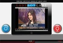 Contest Entry #19 for Design a Website Mockup for domain Ladyboygame.com