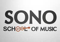 Graphic Design Kilpailutyö #7 kilpailuun Design a Logo for Sono School Of Music