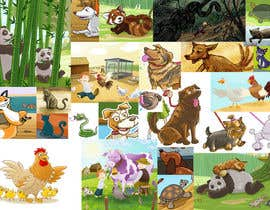 #3 for Illustrate Animals for Childeren Game by Jaimeespinar79