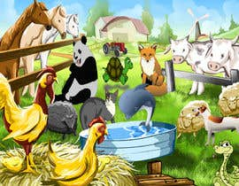 #34 for Illustrate Animals for Childeren Game af fo2shawy001