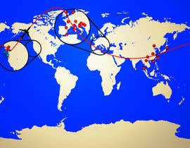 #3 cho Map of the cities and countries I have been to bởi hichameyessou