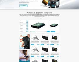 #9 for Build a Website for a electronic accessories and branding business af tania06