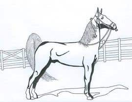 #14 for Hand-drawn sketch of horse in AI format af Arath99