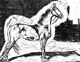 nº 18 pour Hand-drawn sketch of horse in AI format par kmkalczynska