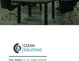 adrieng tarafından Design a Brochure - Cleaning Company için no 2