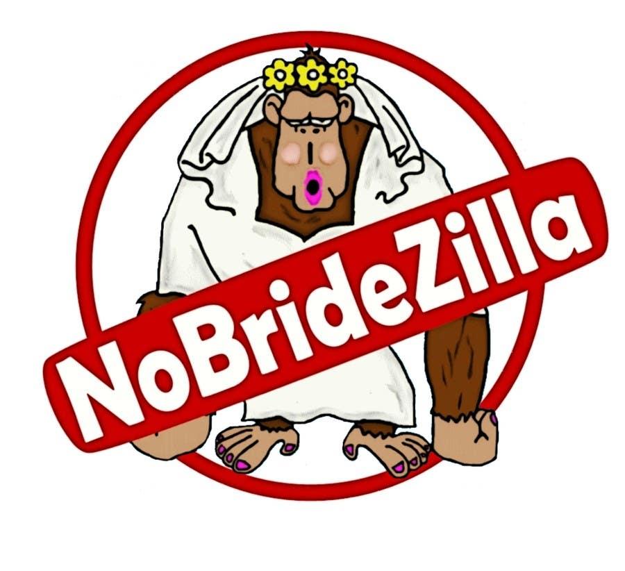 Kilpailutyö #15 kilpailussa BrideZilla Logo