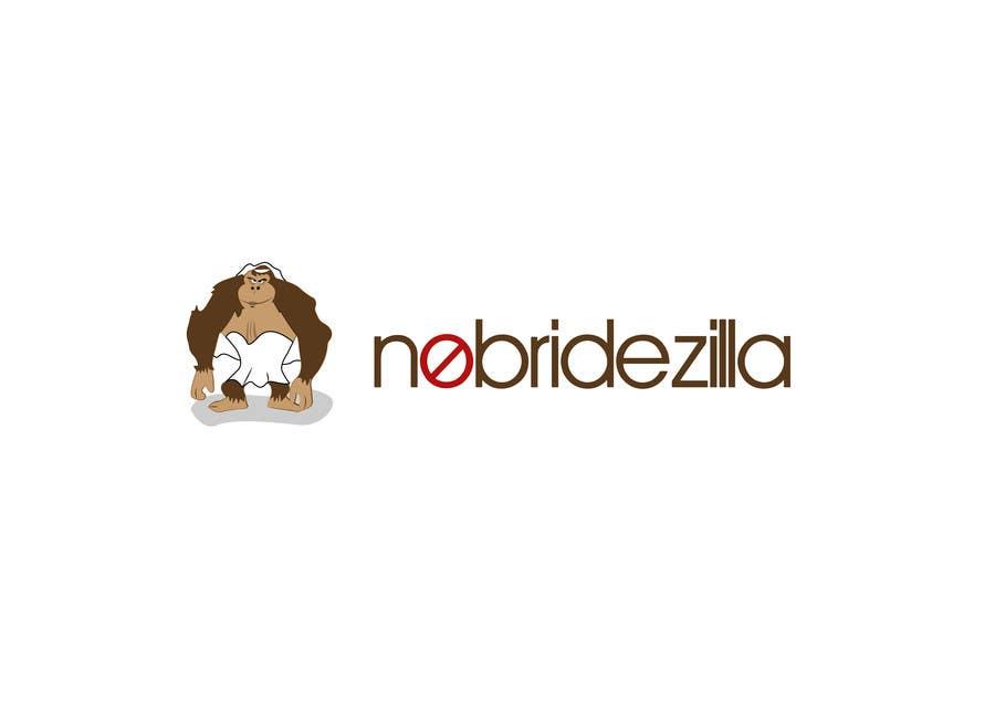 Kilpailutyö #26 kilpailussa BrideZilla Logo