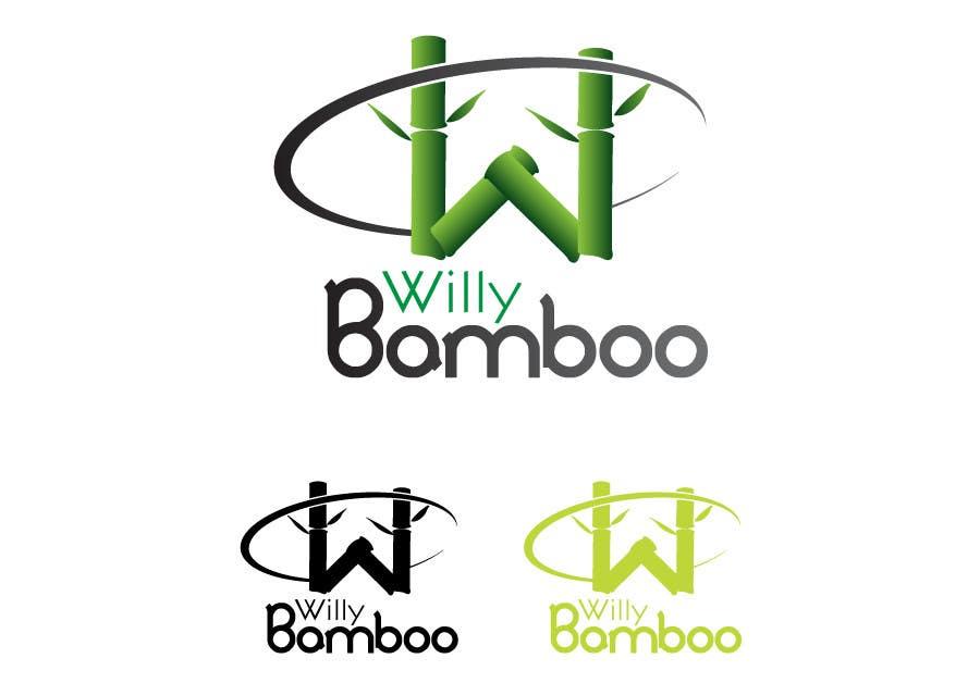 Kilpailutyö #78 kilpailussa Design a Logo for Willy Bamboo