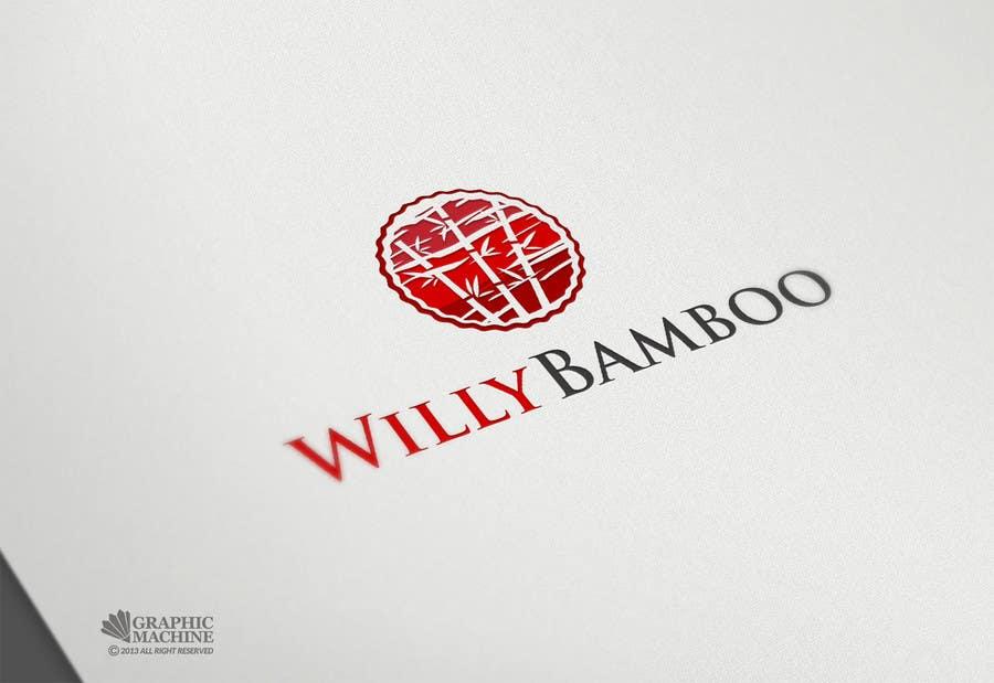 Kilpailutyö #25 kilpailussa Design a Logo for Willy Bamboo