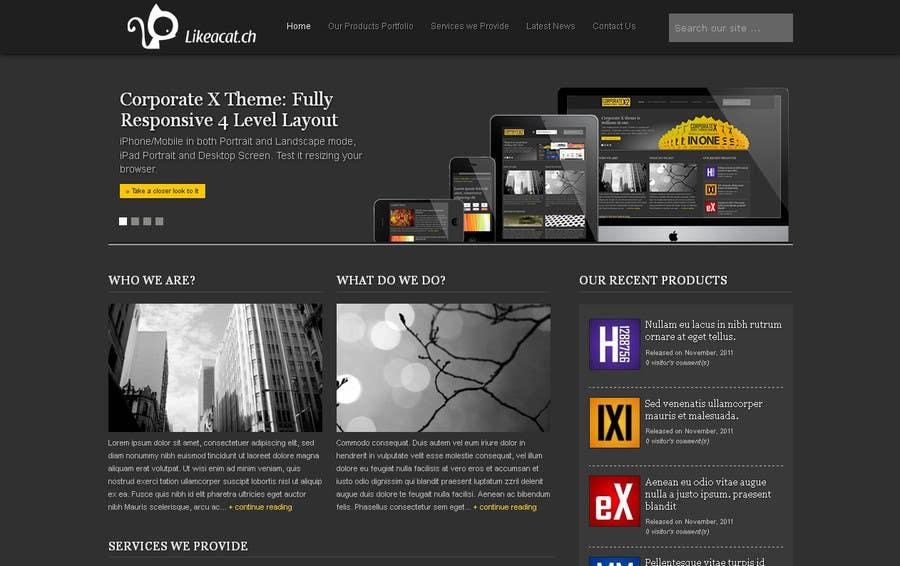 Penyertaan Peraduan #14 untuk Drupal Theme for a printing company