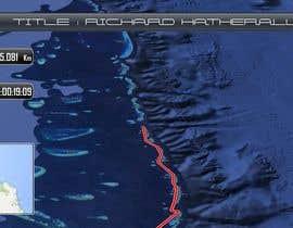 Nro 4 kilpailuun animated map video of GPS track käyttäjältä soumen59