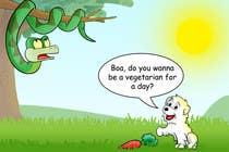 """Illustration Kilpailutyö #15 kilpailuun Illustrate something for """"Puppy and Boa"""""""