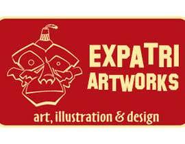 Nro 25 kilpailuun Design a Logo for ExpatriArt käyttäjältä yeshkutty