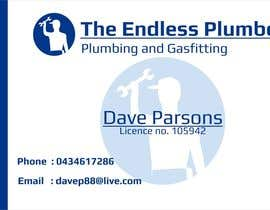 #16 untuk Design some Business Cards for The Endless Plumber oleh downyquinn