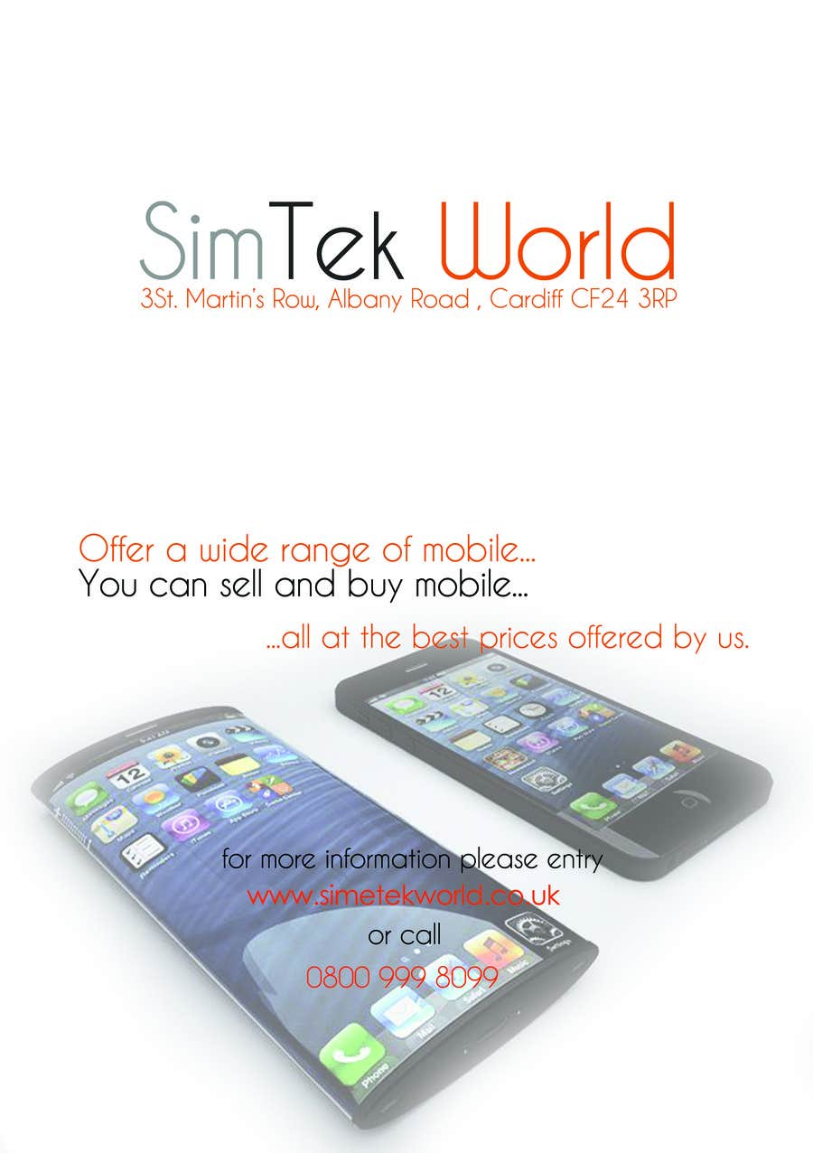 #18 for Good Design a Flyer for SimTek World Ltd by cmunteanu92