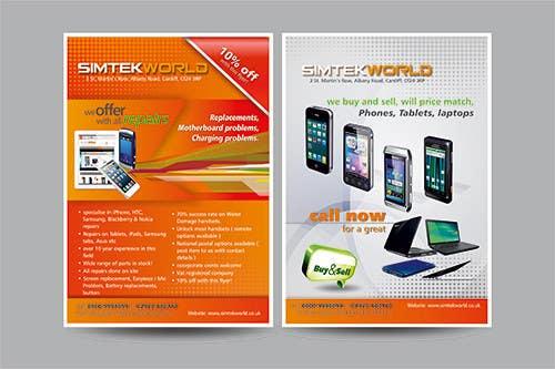 #9 for Good Design a Flyer for SimTek World Ltd by graphics15