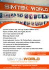 Contest Entry #3 for Good Design a Flyer for SimTek World Ltd