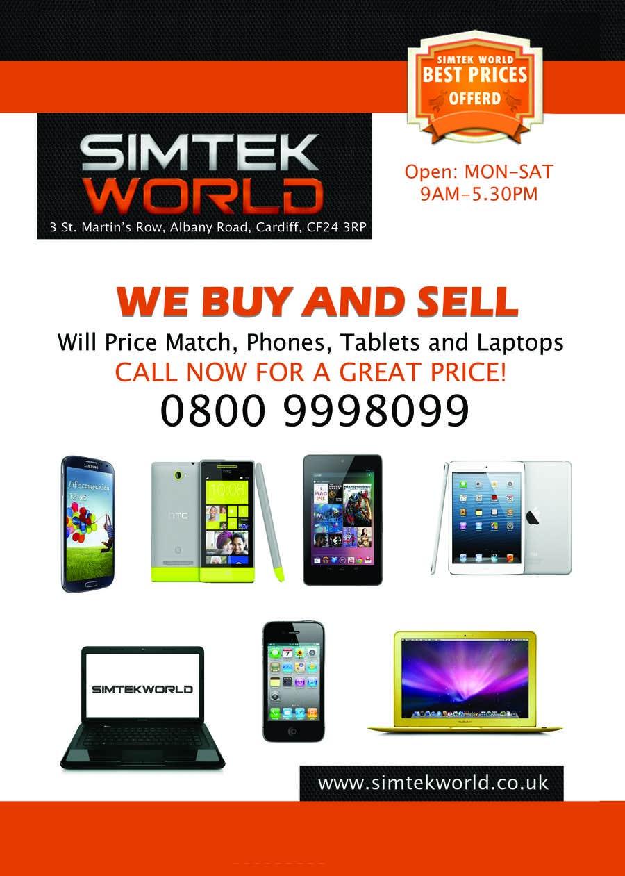 #16 for Good Design a Flyer for SimTek World Ltd by AzuPS