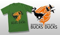 Contest Entry #39 for Design a deer and ducks t shirt Many more jobs to come this is a test to find our designer. Logo