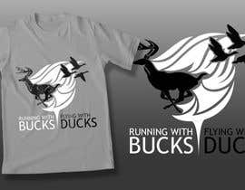 Nro 40 kilpailuun Design a deer and ducks t shirt Many more jobs to come this is a test to find our designer. Logo käyttäjältä theislanders