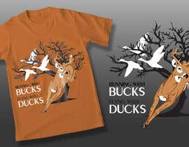Nro 43 kilpailuun Design a deer and ducks t shirt Many more jobs to come this is a test to find our designer. Logo käyttäjältä theislanders