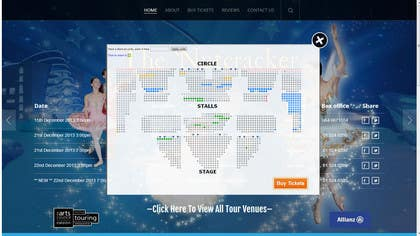 #12 for HTML and CSS design for ticketing website. af zicmedia