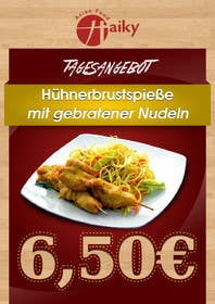 #46 for Design a Banner for Restaurant. by HamDES