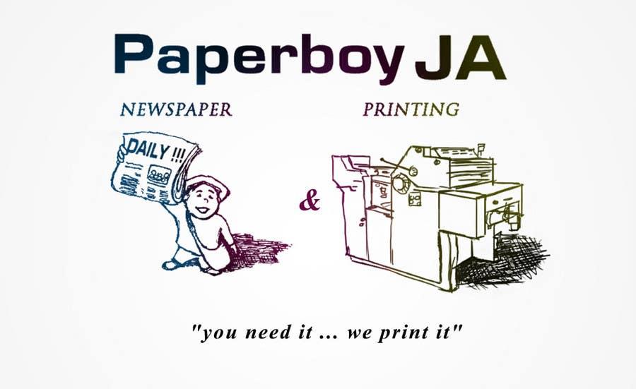 Konkurrenceindlæg #                                        41                                      for                                         Graphic Design for Paperboy JA