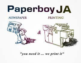 #41 for Graphic Design for Paperboy JA af aosFISH