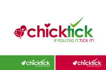 Graphic Design Contest Entry #549 for Logo Design for chicktick