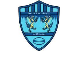 AlexBogdanArts tarafından Sports Logo for North Shore Rugby Ice Dragons için no 45