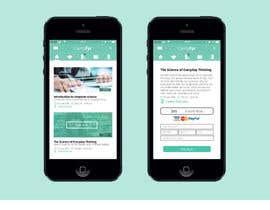Nro 72 kilpailuun Design an iPhone and iPad App Mockup käyttäjältä Katt27
