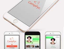 Nro 31 kilpailuun Design an iPhone and iPad App Mockup käyttäjältä alejandrobrush