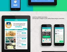 Nro 54 kilpailuun Design an iPhone and iPad App Mockup käyttäjältä gauthammukesh