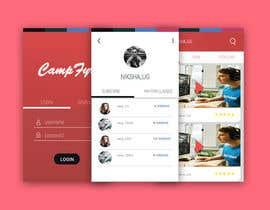 Nro 74 kilpailuun Design an iPhone and iPad App Mockup käyttäjältä Nvectored
