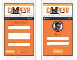 Nro 52 kilpailuun Design an iPhone and iPad App Mockup käyttäjältä alberhoh