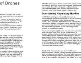 yogeshsardana tarafından Write some How To DIY Articles about Drones & Transportation için no 8