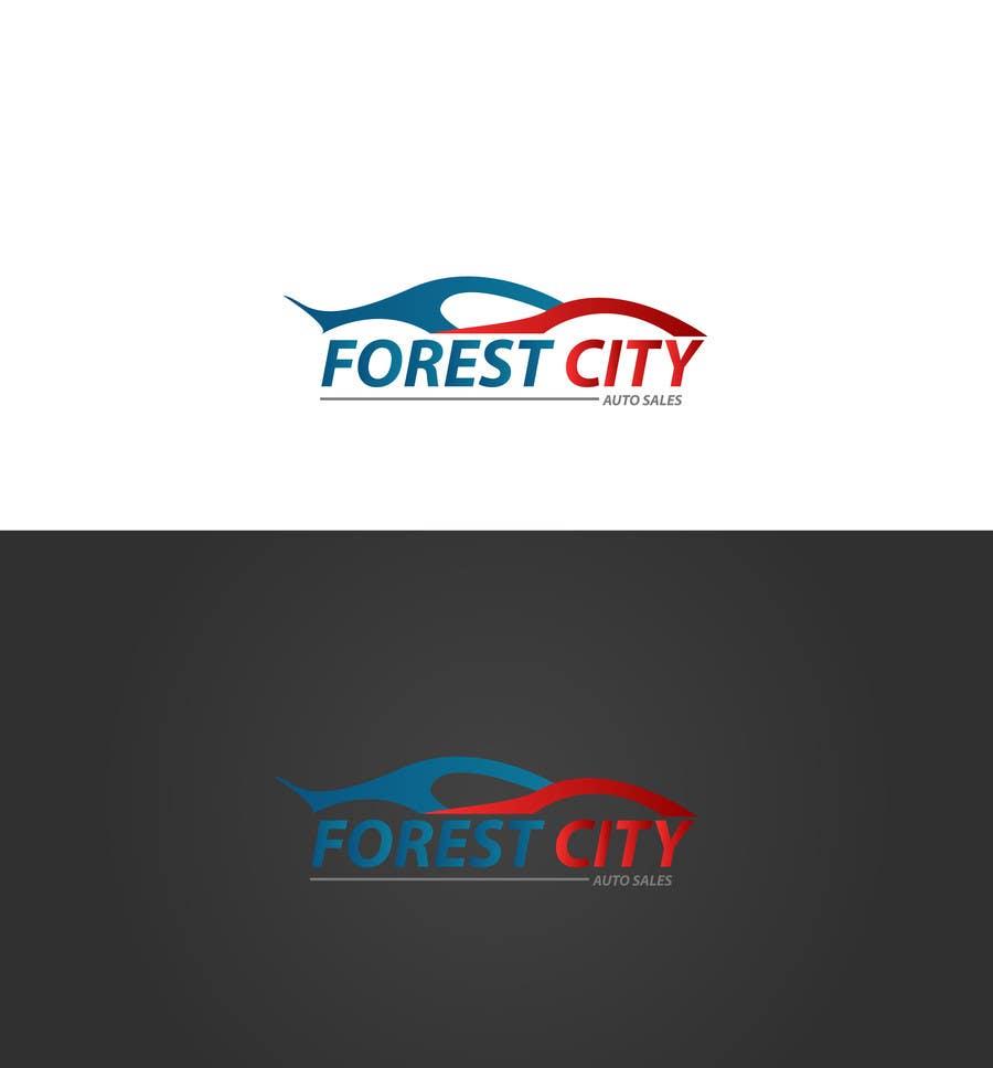 Penyertaan Peraduan #10 untuk Forest City Auto Sales