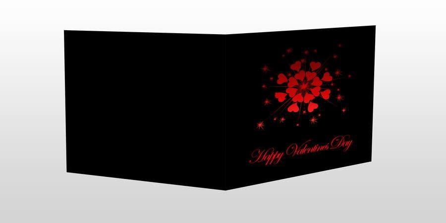 Kilpailutyö #16 kilpailussa Design some Stationery for a Valentine's Day card