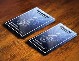 #133 untuk Design a Business Card concept for an Opera Singer oleh pointlesspixels