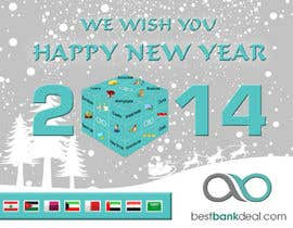 #12 untuk Design an e-greeting card for new year oleh peirisdsdp