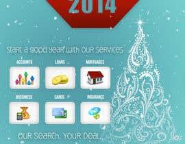 #8 untuk Design an e-greeting card for new year oleh SabinaTrzan