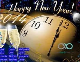 #10 untuk Design an e-greeting card for new year oleh stefanobs