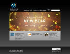 #33 para Design 2 Banners for X'mas and New Year por piratepixel