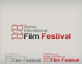 #286 para Logo Design for Surrey International Film Festival por dasilva1