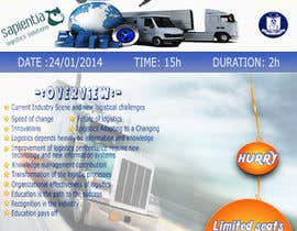 #9 untuk Design a Flyer for a Logistics Workshop oleh Kanchana9