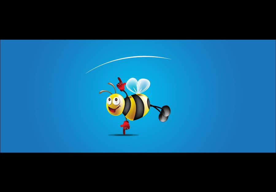 #9 for I need a cartoon-style illustration of a Bee by manish997