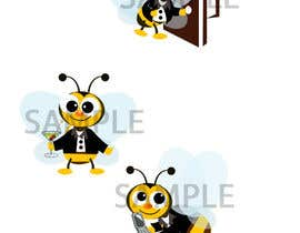 #18 cho I need a cartoon-style illustration of a Bee bởi kaizendesigns
